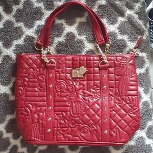 Difei Large Red Purse